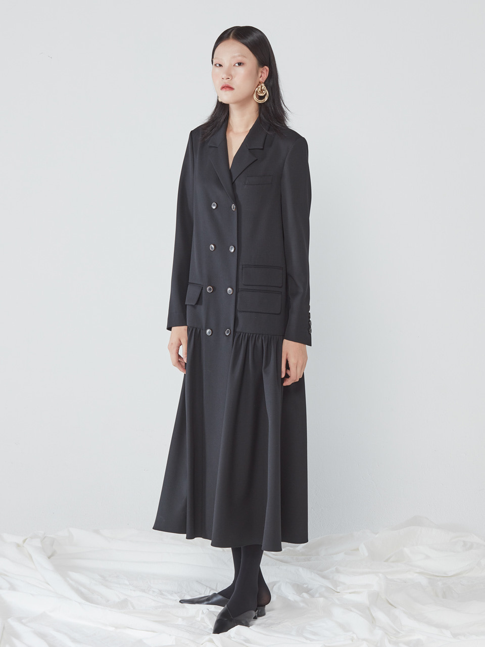 [WINTER SALE 20%] LONG JACKET DRESS